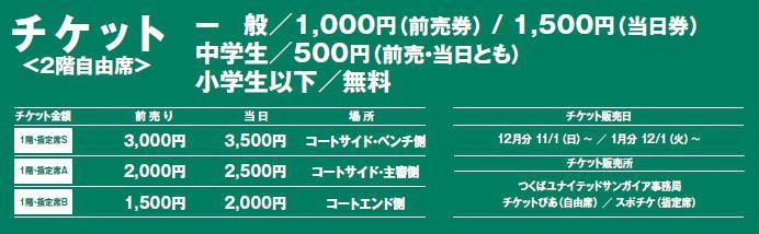 2015-16ホームゲームチケット情報