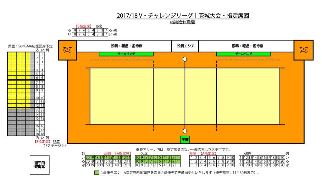 2017/18 V・チャレンジリーグ1男子 茨城大会 つくば